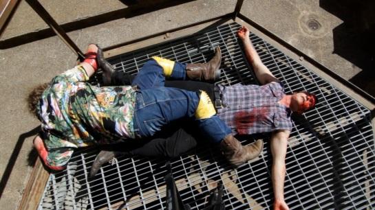 HA - E10 dead on ground Zine Fair