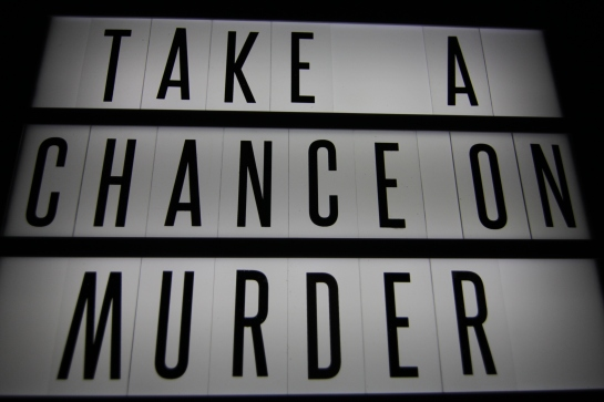 Take A Chance On Murder