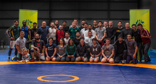 Wrestling Australia Camp-0906