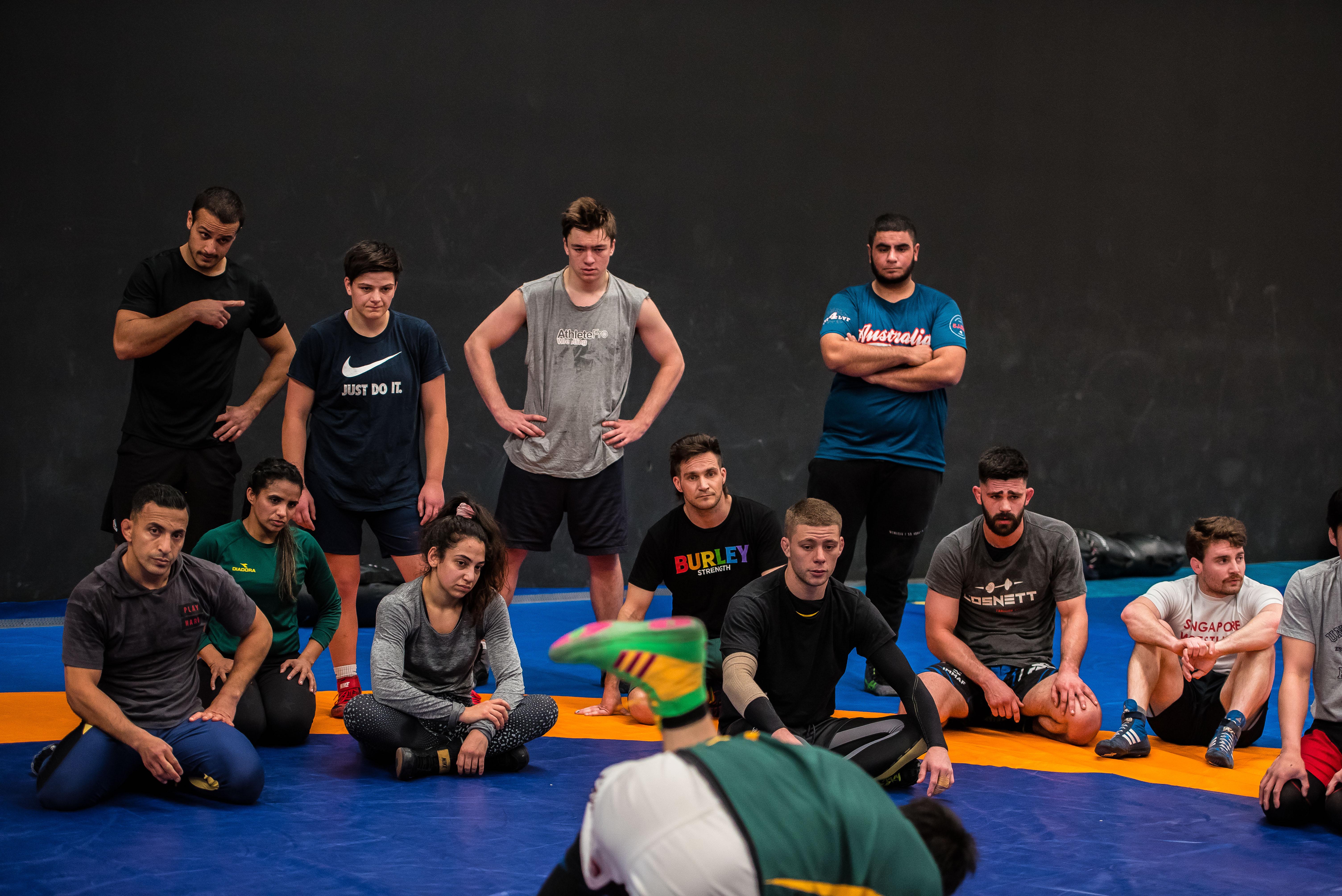 Wrestling Australia Camp-9759